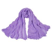 Wholesale Christmas women fashion silk shawl Solid color scarf cape muffler Dual use seaside Home Leisure decoration Sunscreen neckerchief Xmas