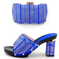 Cheap 2016 very nice italian matching shoes and bag set ladies shoes and bag to match for nigerian wedding For wedding DL1-22