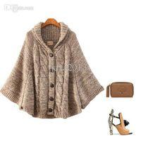 Wholesale New Women s Autumn sweater knit long sweater Long sleeve Basic Shirt women casual Sweater poncho
