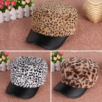 Ball Cap Woman Winter Leopard Beanie Winter Hats For Women Hip-hop Hats Gorro Braided Crochet Warm Pom Pom Beanie Ball Hat Cap Baseball Caps