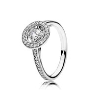 allure set - Diamond Rings Vintage Allure Clear CZ Stone Wedding Ring Jewelry Factory CZ