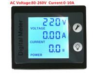 Wholesale PEACEFAIR Latest Version STN Omnibearing Display Screen Digital AC V A Voltmeter Ammeter Watt Energy Panel Meter