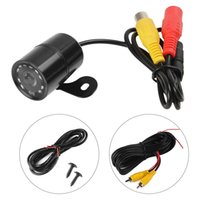 Wholesale Universal PC1030 TVL Night Vision Car Front View Camera Degree Wide Angle Waterproof Auto Reverse Parking Rear View Camera CAL_037