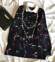 Wholesale Famous Women Tops Brand Knits Fashion Knits Tees Women Clothing Fabric