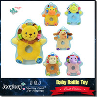 bell brands - Sozzy Brand New Multifunctional Infant Baby Toys Different Styles Of Animal Hand Bell Educational Baby Rattle Developmental Gift
