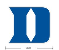 Wholesale Football NACC Duke Blue Devils Car reflective stickers Car Reflective stickers DecalCalifornia Davis Aggies Wall Sticker