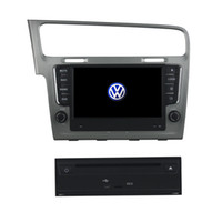 Wholesale 8inch Andriod Car DVD Player for VW Golf with GPS Steering Wheel Control Dua Zone Radio BT Function