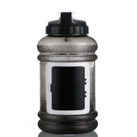 bicycle water bottle storage - 2 L Big Large BPA Free Sport Gym Training Drink Water Bottle with Storage Case Large Capacity Kettle for Outdoor Picnic Bicycle