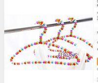 ball coat rack - Sainwin cm Hangers for Clothes Pearl Plastic Hanger Colorful Crystal Ball Rack Coat hanger