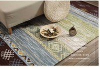 Wholesale modern simple carpet living room coffee table carpet Nordic country home bedroom bedside blanket