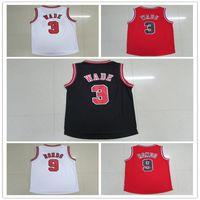 Wholesale Newest Wade BULLS Rajon Rondo Dwyane Jersey Red Men s Stitched BASKETBALL Jersey
