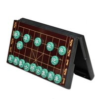 Wholesale Popular portable Chinese Chess Game With Folding Magnetic Board specially suitable for traveling or outdoor entertainment size x31cm