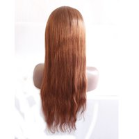 Wholesale Human Hair Capless Wigs Indian Hair Density Natural Straight glueless full lace wigs all color