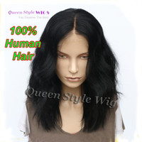 Brazilian hair Loose Wave Beyonce's Hairstyle Medium Length Loose Curly Hair Lace Front Wig Vivid Synthetic  Brazilian Virgin Human Hair Sexy Lace Front Wigs for Black  White Women