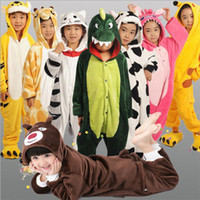 Wholesale In The High Quality Clothing For Children COSPLAY Halloween Costumes Show Animal Pajamas Party Donkey Machine Cat Siamese WinterZXX53