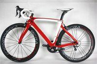 Wholesale Best selling F8 carbon complete bike with T1100 K K F8 road bike carbon Frames mm carbon road bike Wheels