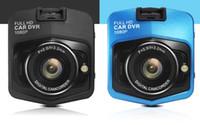 al por mayor grabador de vídeo mini dvr-10PCS mini cámara auto del coche del dvr del coche del dvr de los nuevos dvrs llenos del hd 1080p que estaciona la videocámara video del registrador del registrador video de la visión nocturna cámara negra de la rociada