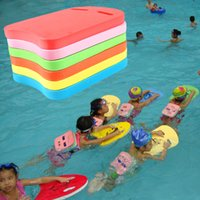 Wholesale Swimming Kickboard Kids Swim Flutter Plate Child Swimming Beginner Tools Safe Float Hand Boards Pool Training Aid Foam Tool