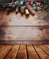 Wholesale New Fashion Christmas x7ft Vinyl Photography Background Christmas Decoration Photographic Backdrops For Studio Photo Props Cloth x2 m