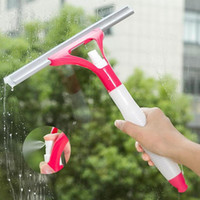 Wholesale New Spray Type Cleaning Brush Window Cleaners Brush Glass Wiper Car Window Wizard Washing Tool Household Cleaning Tools