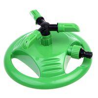 Wholesale Garden Plastic Sprinkler Automatic Degree Rotating Sprinkler Plant Flower Lawn Watering Irrigation Tools