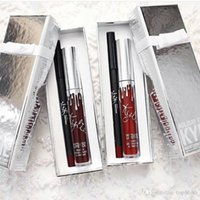 best lip liner pencil - 2017 Best sell Kylie Cosmetics Lip Kit Vixen Merry Holiday Edition Matte Liquid Lipstick and Pencil Lip Liner Vixen merry christmas