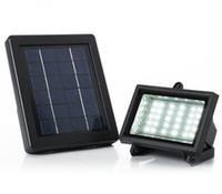 Wholesale Solar Panel Flood Lights LED W Lamp Spotlight Floodlight Garden Lawn Landscape Billboard Building Lighting Wall Outdoor Light Sensor