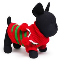 big dog supply - New Dog Apparel Pets Supplies Christmas Big Dot Stripe Flower Dogs Fur Apparel Xmas Gift AA SO