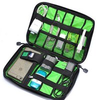 Wholesale Bubm Hard Drive Earphone Cables Usb Flash Drives Storage Travel Case Digital Cable Organizer Bag colors fast shipping