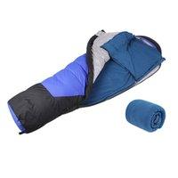 Wholesale AOTU Outdoor Fleece Sleeping Bag Camping Hiking Climbing Multifuntion Ultra light
