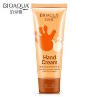 Wholesale BIOAQUA Hand Care Beautiful Whitening Tender Hand Peeling Exfoliating Dead Skin Anti chapping Hand Cream Spa Hand Skin Care