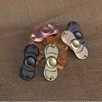 Wholesale Mix Colors New Fidget Toy Hand Spinner With Brass Hand Spinner Toys Hand Tip Torqbar Style Ceramic Bearing Crazy Spinner Toy CCA5570