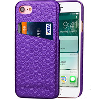 Cheap For Apple iPhone Mermaid Fish case Best PU mix colors Scales design phone cover