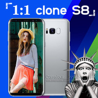 Wholesale 2017 New Arrival Real G LTE S8 s8 Phones MTK6580 bit Quad Core Dual SIM x1080pixel GB GB Android GPS Smartphone