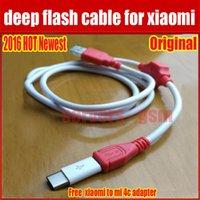 Venta al por mayor-nuevo cable profundo del flash para los modelos del teléfono del xiaomi Abra el puerto 9008 Apoya todas las cerraduras BL Ingeniería con el adaptador libre China del agente
