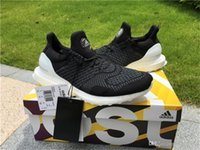 Wholesale 2016 Hypebeast th Anniversary Uncaged Ultra Boost New AQ8257 X HYPEBEAST ULTRA BOOST UNCAGED BLACK WHITE TH ANNIVERSARY With Box