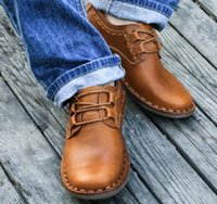 best business casual shoes - brand New men Shoes men Casual Genuine Leather flats driving shoes business men s shoes casual best quaity