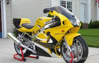 Wholesale Free Gifts NEW ABS Fairing set bodywork For Kawasaki Ninja ZX7R ZX R ZX R Nice yellow