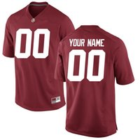 alabama state football - Customized Alabama State Jersey Men Limited College Football Custom White Red Logo Embroidered Logo Mens Jerseys