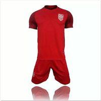 Wholesale USA Jerseys Away red United States DEMPSEY DONOVAN BRADLEY ALTIDORE Custom Shirt Cheap jerseys Set Uniforms kit high quality