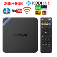 Wholesale T95N Mini M8S Pro K TV Box Amlogic S905X Android Smart GB GB Kodi Streaming Media Player with D Blu ray Internet DHL Free
