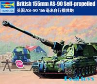 Wholesale Trumpeter British mm AS Self Propelled Howitzer plastic model kit