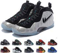 Mid Cut anfernee hardaway shoes - ship box Drop shipping Cheap New mens basketball shoes Sneakers Women Anfernee Hardaway Galaxy shoes Penny lighted sports shoe for men