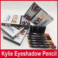 Wholesale New Kylie jenner eye shadow pencil kylie waterproof eye lip eye shadow pencil colors mixed factory supply