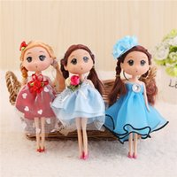Wholesale 2017 Best Sale Children s Toys Simulation Doll CM Nude Doll Mi hu doll factory special offer Wedding dress Factory Direct