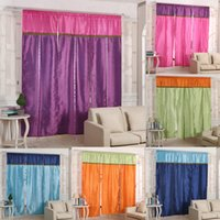Wholesale cm Window Blinds Scrolling Bohemian Exotic Stitching Roman Enetian Blinds Curtain Finished Curtains Lift Home Decoration