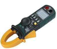 Wholesale Mastech MS2108A Digital Clamp Frequency Multimeter Holding Lighting lamp Measurement