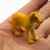 Wholesale New Arrival Super Mini different kinds artificial big pet dog Animals model for kids Education Toys gift KLM059