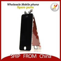 Wholesale mobile phone lcd For Iphone S LCD Display with touch screen digitizer assembly by DHL