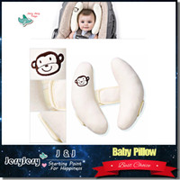 adjustable neck pillow - Soft Summer Infant Baby Adjustable Protection Pillow Head Neck support Fitted Car Seat Stroller Accessories Pram Capsule Pillow